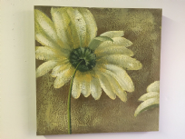 Natural Flower Art Oil Painting on Canvas Wall Decor C